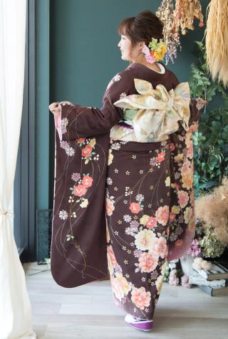 ブラウン花コレクション Mの衣装画像3
