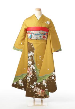 日本女性の美しさを感じるシックな振袖